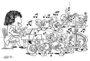 Concerto in sol puffo, di Sandro Dossi
