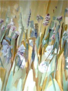 Immagine1prato fiorito olio su tela cm.120x100