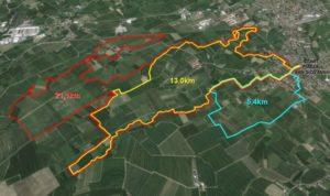 mappa 3 percorsi 2016