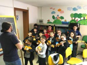 progetto scuola classe ukulele