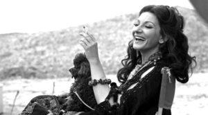 Maria Callas sul set