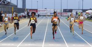26 Meeting Sport Solidarieta - Elaine Thom pson (85) oro 100m e record del meeting