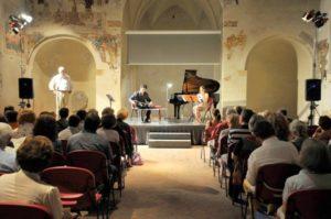 Un concerto aperitivo (Foto Angelo Simonella)