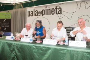 Da sinistra, Polesini, Corona, Munisso, Scarbolo