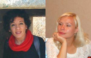 Da sinistra. Lucia Zaghet e Daria  Korsunovskaia