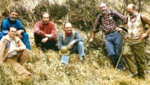 18 aprile 1989: la scoperta della daphne (Bruna e Poldini a destra)