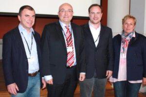 Da sinistra, Fabbro, Baztarrika, Cisilino e Lopez