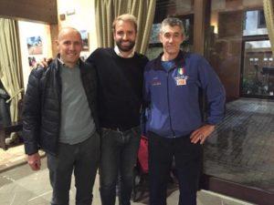 Da sinistra: Praturlon, Rosolino, Cristofoli.