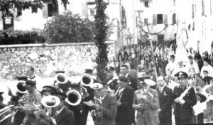 La processione negli Anni 50